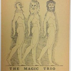 (Hugo Claus). The Magic Trio.