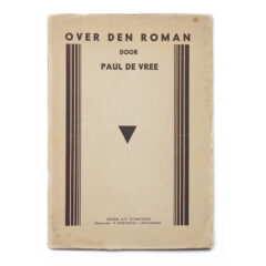Paul De Vree. Over den Roman.