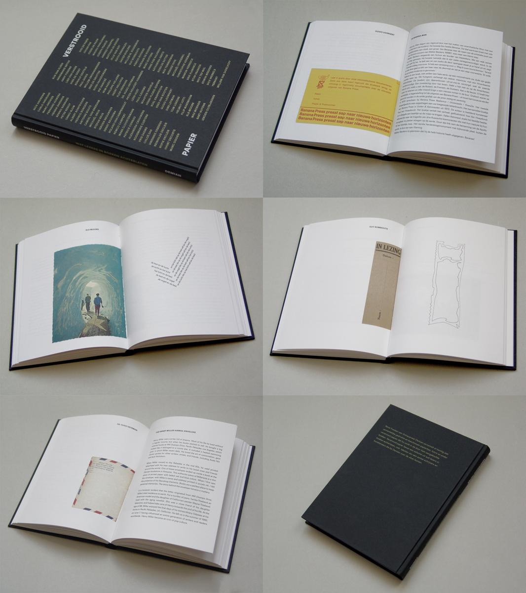 Verstrooid Papier. Wat lezers in boeken achterlaten. Demian, 2012