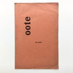 Jan Hanlo - Oote - Demian