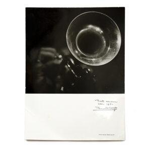 Frank Philippi. Nieuwjaarswens 1960. Originele foto.