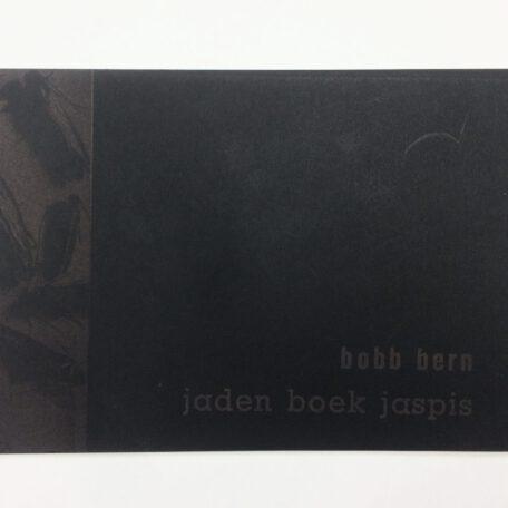 Bobb Bern. jaden boek jaspis.