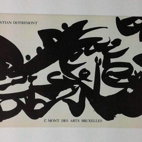 Christian Dotremont. Logogrammes (invitation)
