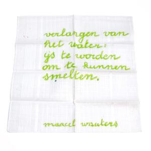 Marcel Wauters. Verlangen van het water.