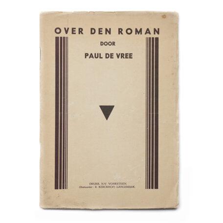 Paul De Vree. Over den Roman.