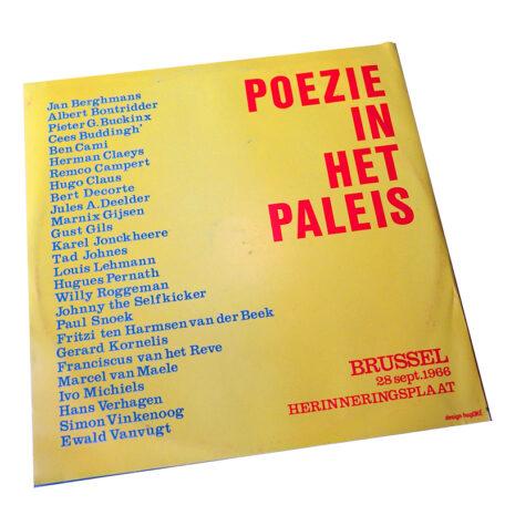 Poëzie in Het Paleis