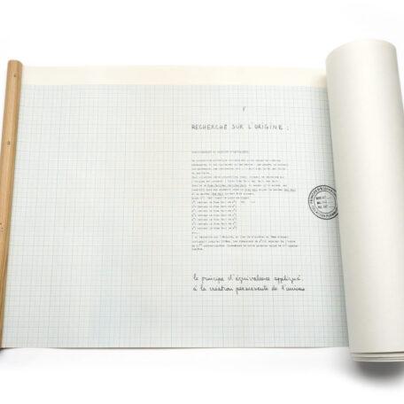 Robert Filliou. Erforschung des Ursprungs (Recherche sur I'Origine).